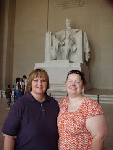 Me and Mom at the Lincoln Memorial