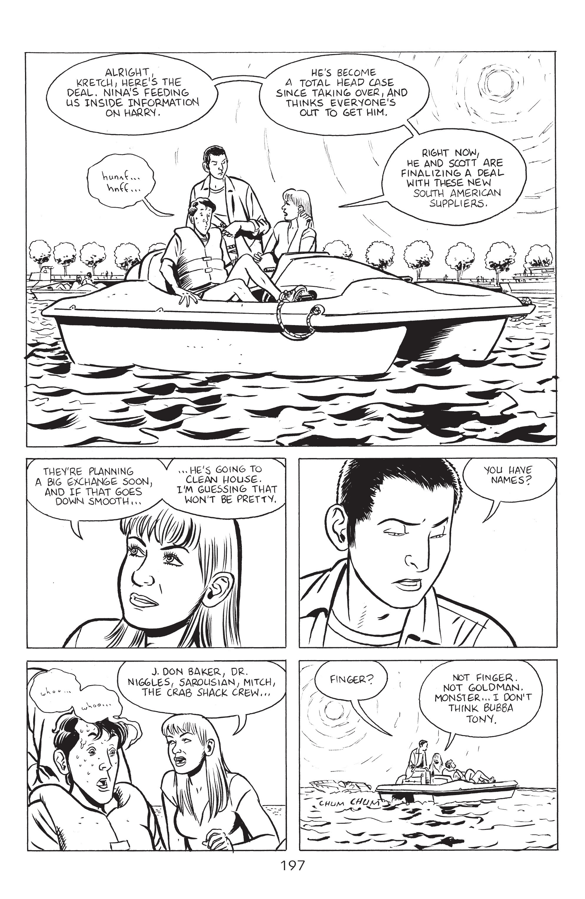 Read online Stray Bullets: Sunshine & Roses comic -  Issue #8 - 3