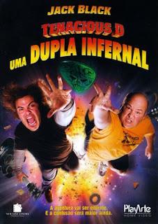 Filme Poster Tenacious D Uma Dupla Infernal DVDRip Dublado