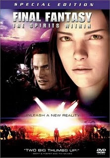 Filme Poster Final Fantasy - The Spirits Within DVDRip XviD Dublado