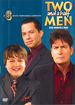 Seriado Two and a Half Men 6ª Temporada DVDRip AVI Dublado