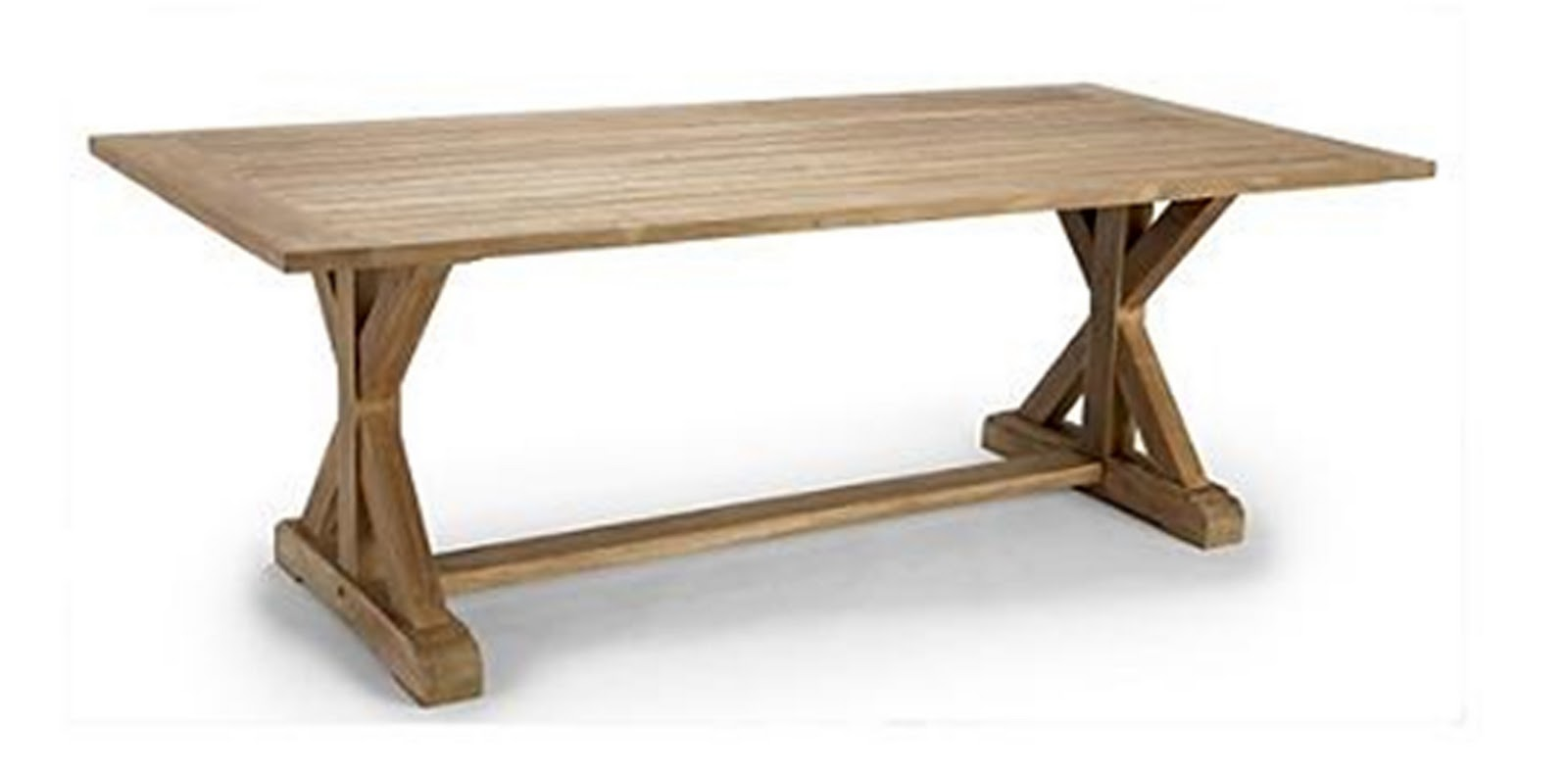 RG the shop library Campagna Outdoor Teak Dining Table