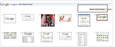 select and remove offensive images_Google