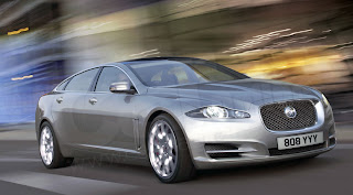 New Jaguar XJ Rendering