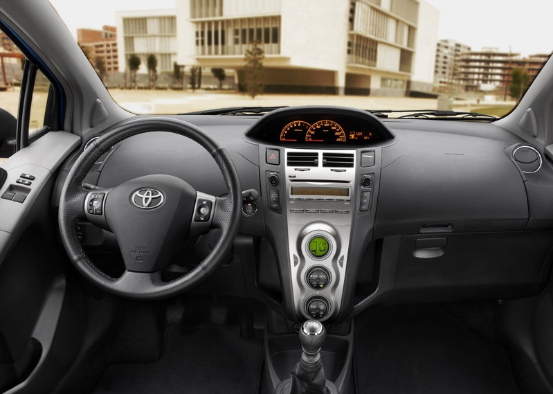 Toyota Yaris Interior. Toyota Yaris Interior Light