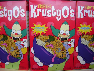 Simpsons Movie 7-Eleven Kwik E Mart takeover - Frosted Krusty-O's
