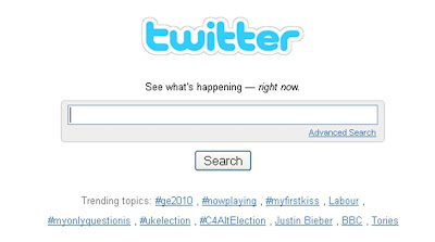 UK election Twitter Trends results night 2300