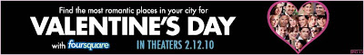 FourSqaure Valentines Day movie