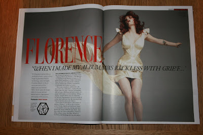 Grazia Augmented Reality Florence Welch spread