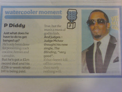 Londonpaper accuse P Diddy