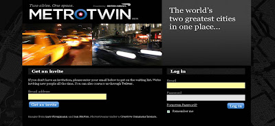 BA Metrotwin homepage