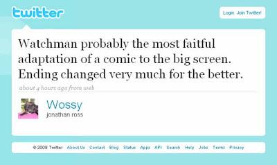 Jonathan Ross Wossy Watchmen Twitter