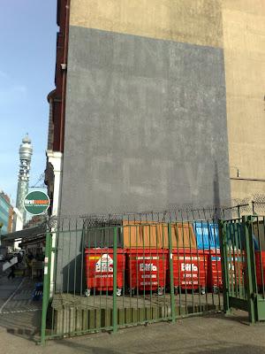 Banksy Newman Street grey