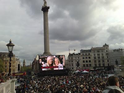 T-Mobile Trafalgar Square Karaoke