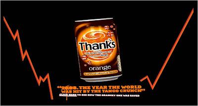 Save Tango thank you website