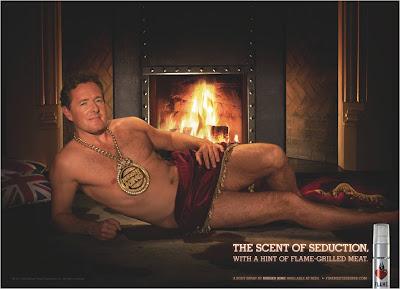 Piers Morgan Burger King Flame fragrance