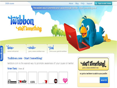 Twibbon homepage
