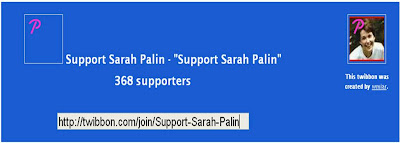 Support Sarah Palin Twibbon
