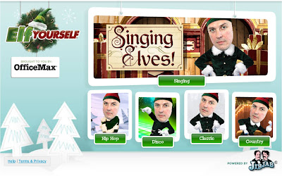 Elf Yourself 2009 themes