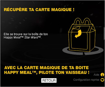 Star Wars Augmented Reality Happy Meal instructions 1