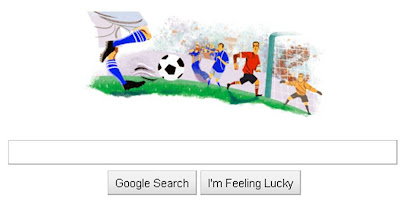 Google Doodle FIFA World Cup 2010 South Africa