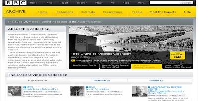 BBC 1948 Olympics archive