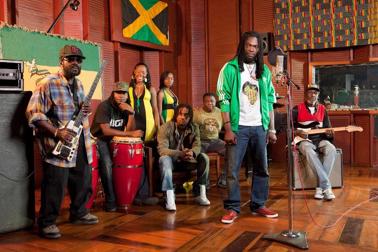 Wailers at Tuff Gong Studios