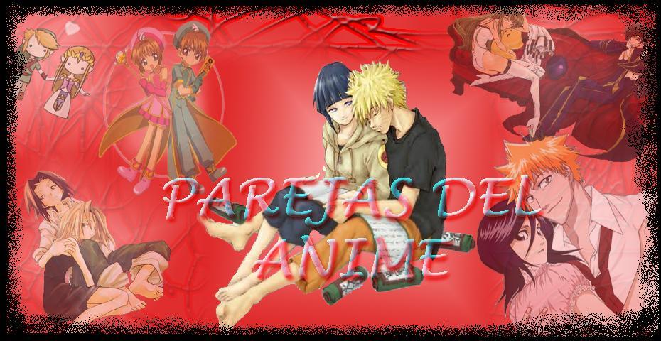 parejas del anime