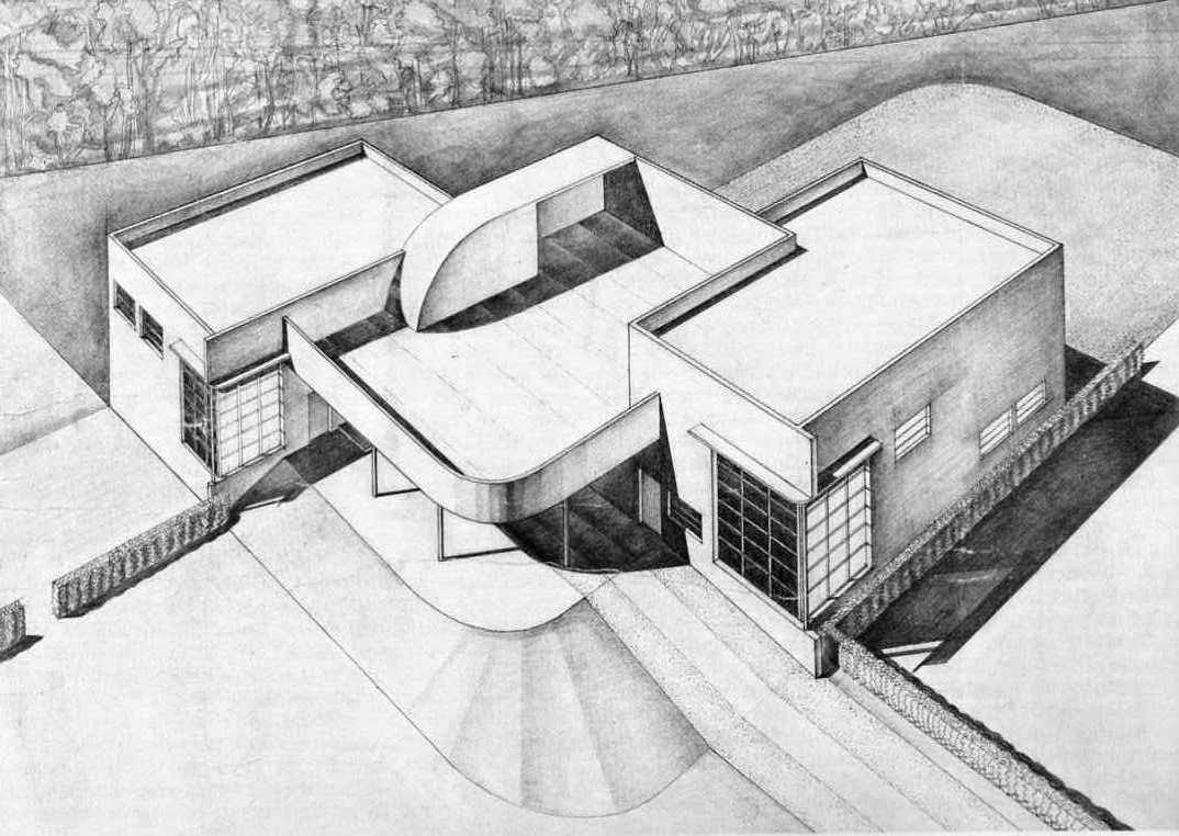 School building sketch plan