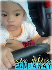 ADAM HIFDZAN 1st BESDAY GIVEAWAY by ZuraZari