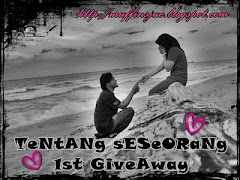 """ TeNtANg sESeORaNg 1st GiveAway"""