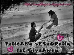 """ TeNtANg sESeORaNg 1st GiveAway"""