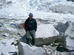 Stuart at Everest Base Camp