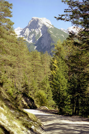 Scharnitz Blick ins Hinterautal - Karwendel