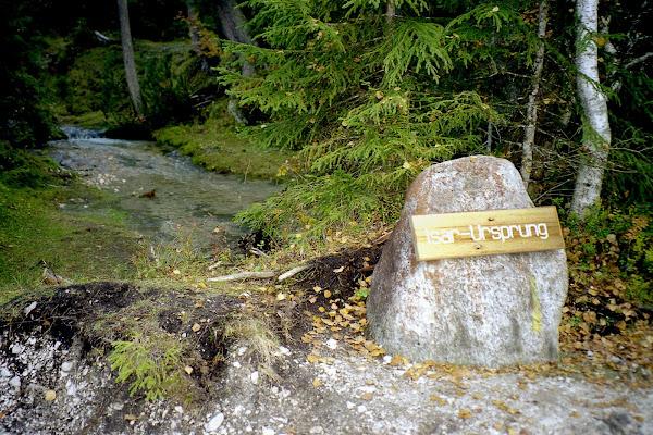 Scharnitz Isar-Ursprung im Karwendel