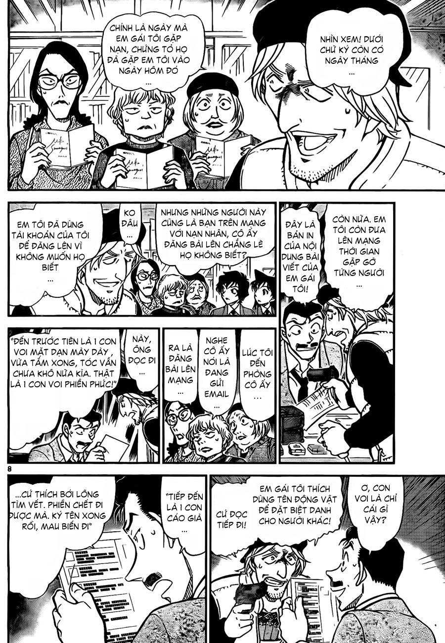 Detective Conan - Thám Tử Lừng Danh Conan chap 772 page 9 - IZTruyenTranh.com