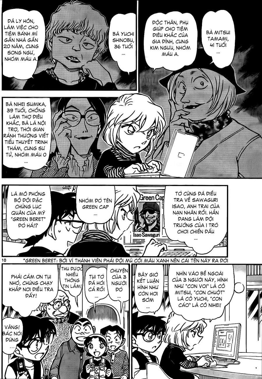 Detective Conan - Thám Tử Lừng Danh Conan chap 772 page 11 - IZTruyenTranh.com