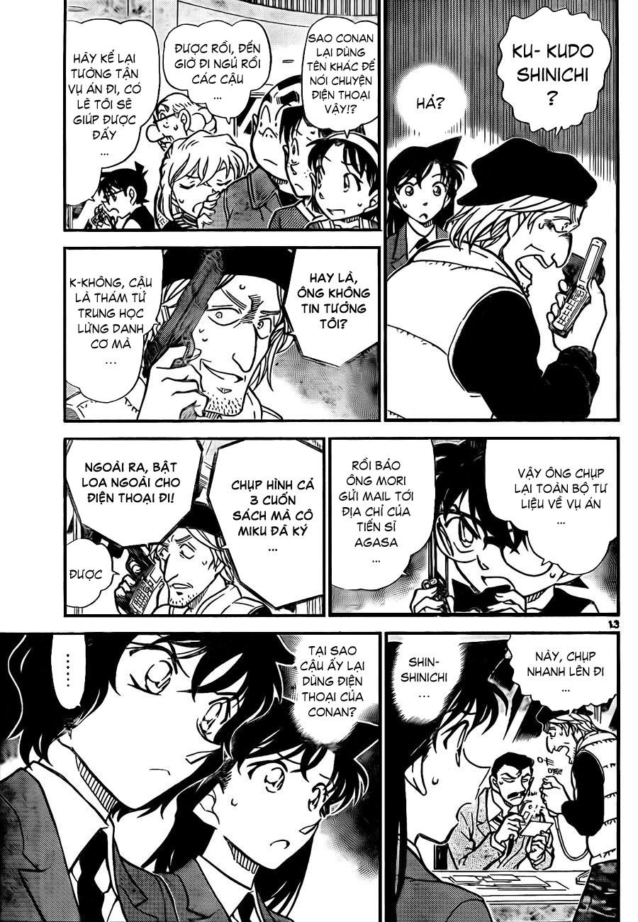 Detective Conan - Thám Tử Lừng Danh Conan chap 772 page 14 - IZTruyenTranh.com