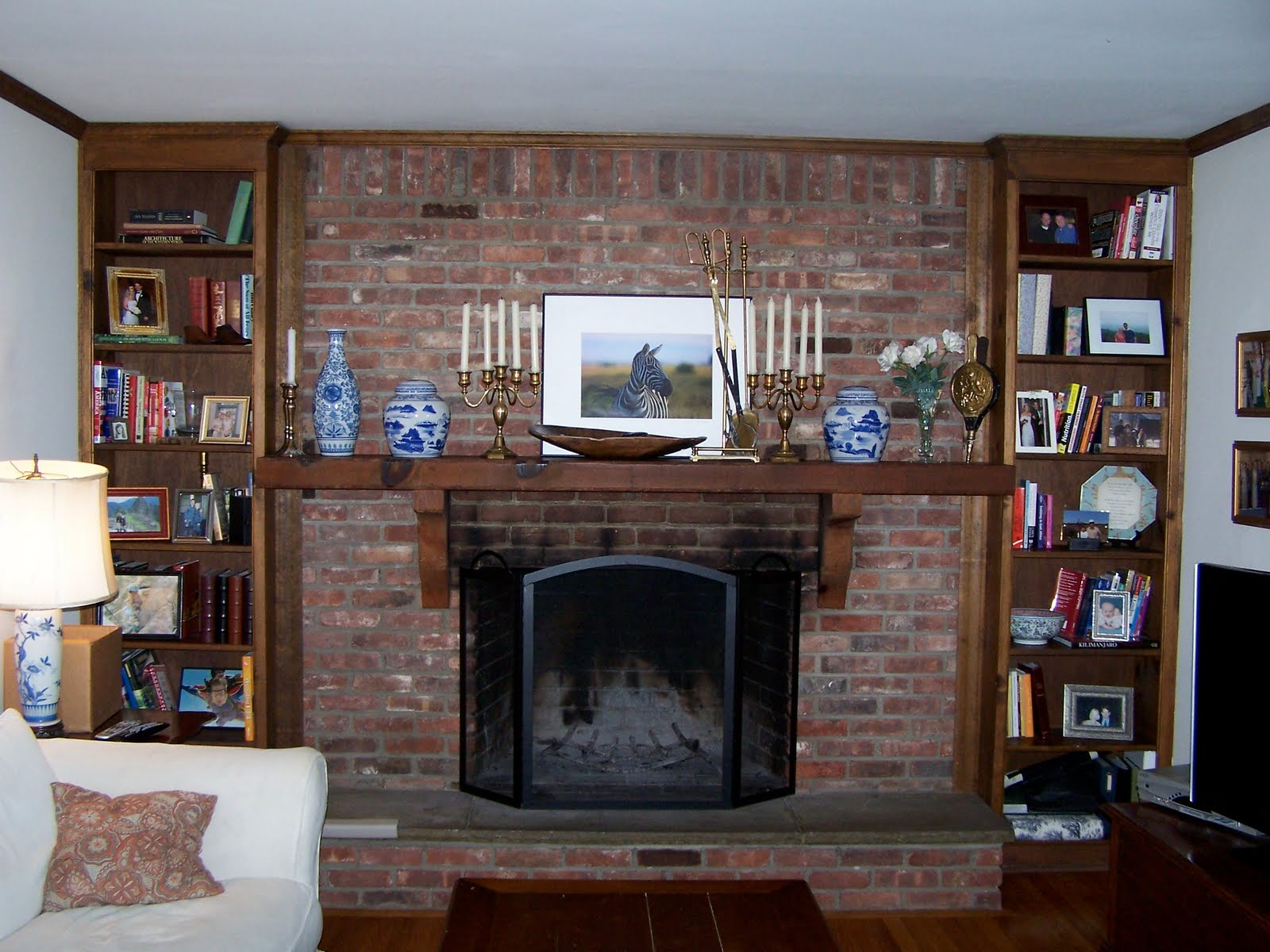 updating your fireplace bossy color annie elliott interior design