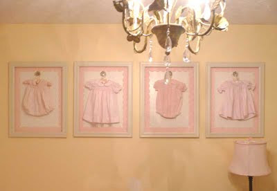 Baby Clothing Wall  on Little Miss Heirlooms  A Fashion Statement