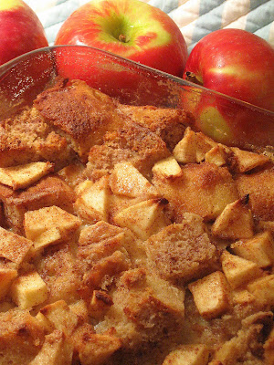 ... Baking Journal: Apple Cinnamon Bread Pudding with Caramel Sauce