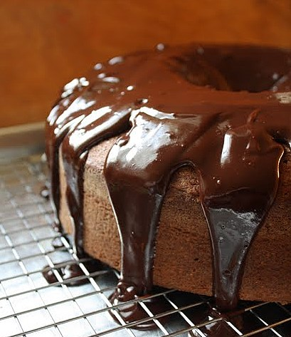 ... Journal: Espresso Chocolate-Chip Pound Cake with Ganache Glaze
