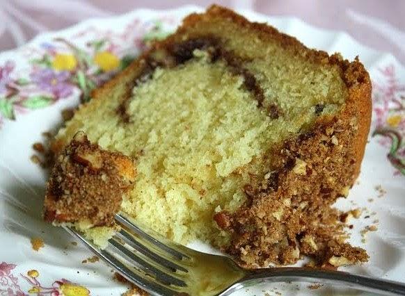 Carole Walter Sour Cream Cake