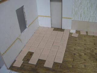 Dollhouse floor
