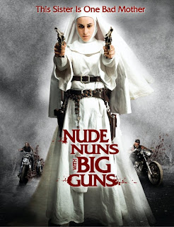 nude nun with a big guns