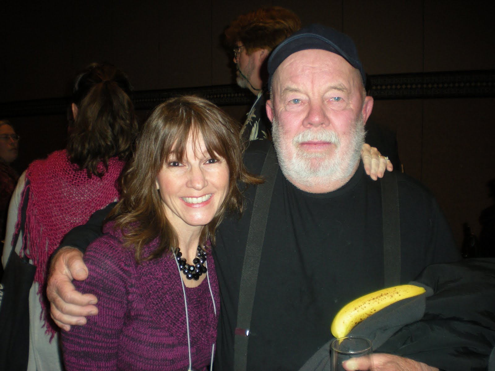Gary Paulsen with beautiful, Wife Ruth Wright Paulsen