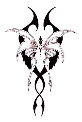 tatuaże wzory motyle