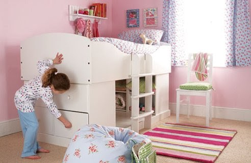 Bedroom designs small and simple kids bedroom design - Miniature room boxes interior design ...