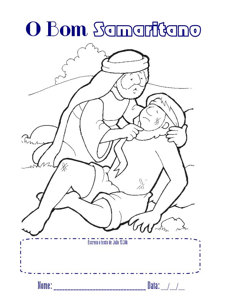 cantinho da tia dihÉne parábolas de jesus o bom samaritano