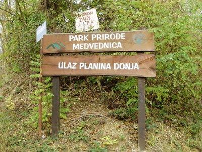 Planina Donja - ulaz u Medvednicu